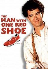 Постер Человек в красном ботинке
