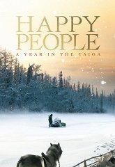 Постер Счастливые люди: Год в тайге