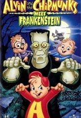 Постер Элвин и бурундуки встречают Франкенштейна