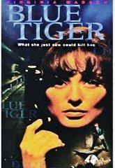 Постер Голубой тигр
