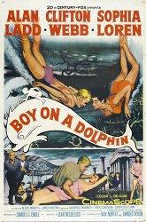 Постер Мальчик на дельфине