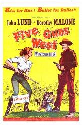 Постер Пять ружей на Запад