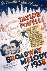 Постер Бродвейская мелодия 1938 года