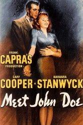 Постер Познакомьтесь с Джоном Доу