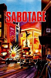 Постер Саботаж