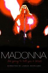 Постер Мадонна. Я хочу открыть вам свои секреты