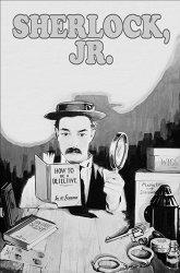 Постер Шерлок-младший