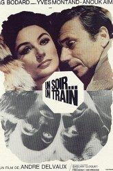 Постер Однажды вечером, поезд