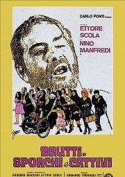 Постер Отвратительные, грязные, злые