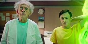 Кристофер Ллойд сыграл Рика в промо к мультсериалу «Рик и Морти»