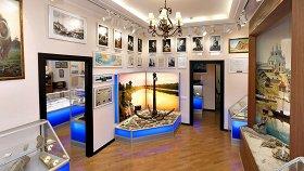 Исторический зал Музея истории Волго-Донского канала