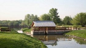 Водяная мельница на речке Жуже