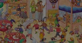5 виммельбухов про жизнь детей в городе