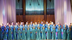 «Эхо ушедшей эпохи»: Сибирский хор
