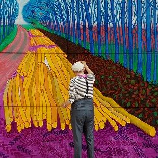 Дэвид Хокни: Поп-арт в Королевской академии художеств