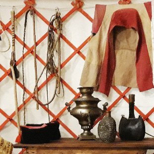 Калмыцкая кибитка. Материальная и духовная культура калмыков Нижнего Поволжья