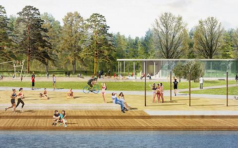 Как будет выглядеть обновленный парк «Кузьминки-Люблино»