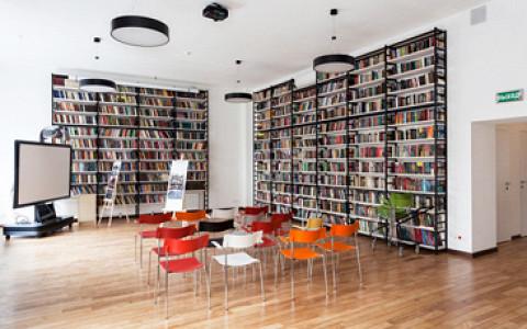 Как изменилась Библиотека имени Достоевского на Чистопрудном бульваре
