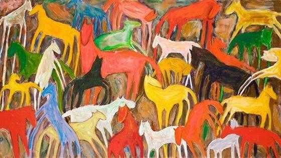 Horses. Живопись Гарри Зуха
