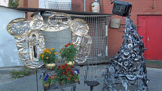Фестиваль актуального искусства из металлолома «Лом-2013»