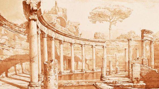 Римское время. Графика Максима Атаянца