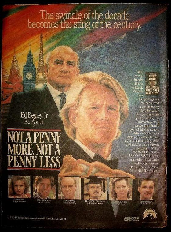Ни пенни больше, ни пенни меньше (Not a Penny More, Not a Penny Less)