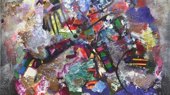 Хаджи-Мурад Алиханов. Ящик с красками