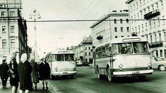 Автобус в любимом городе