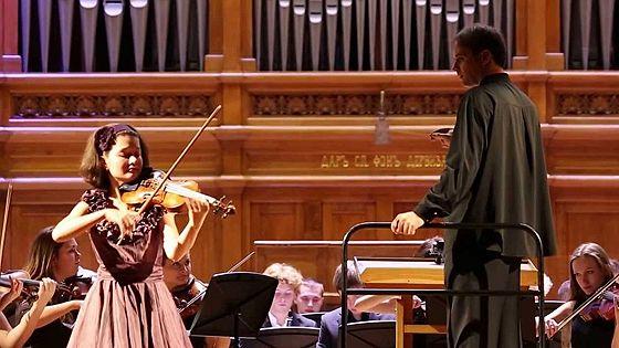 Анна Савкина (скрипка), Дмитрий Калашников (фортепиано)