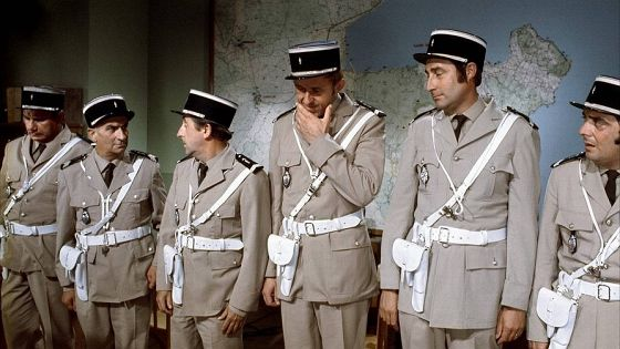 Жандарм на отдыхе (Le Gendarme en balade)