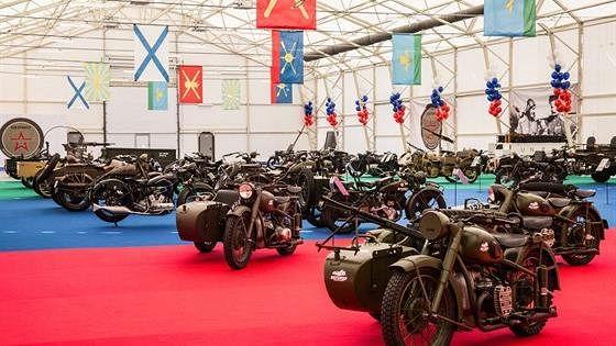 Военные ретромотоциклы