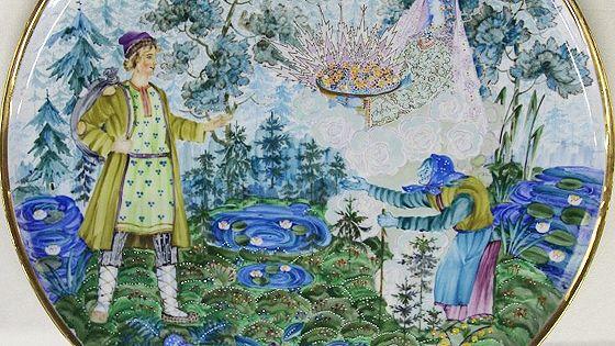 Сказы П.Бажова в уральском фарфоре