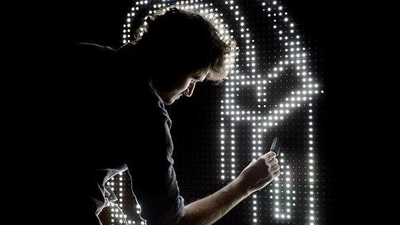 Антонен Фурно. Водносветовое граффити