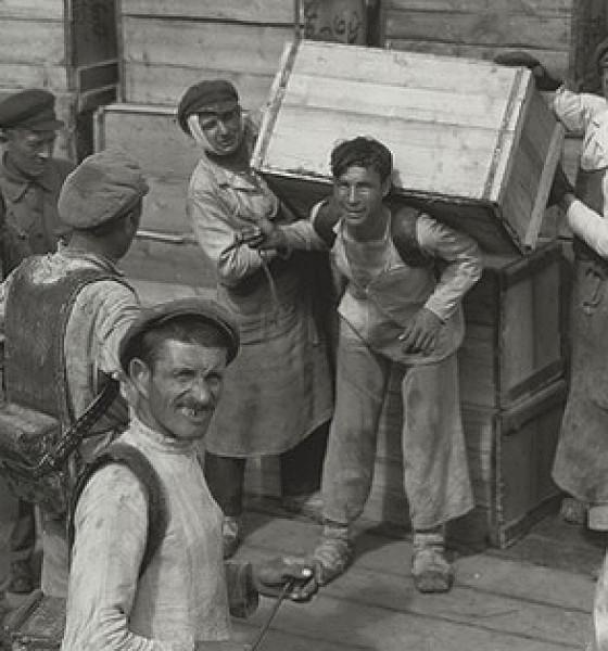 Аркадий Шайхет: Всесоюзное торжище в Нижнем Новгороде. 1924