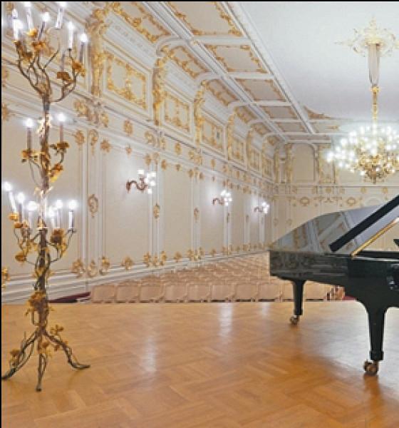 Малый зал Петербургской филармонии
