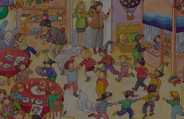 виммельбухов про жизнь детей в городе