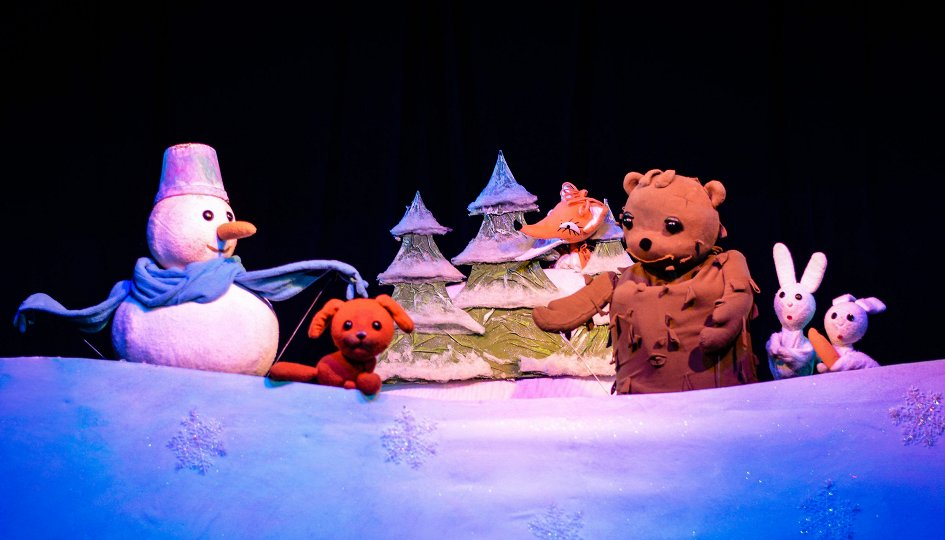 Театр: Снеговик-почтовик