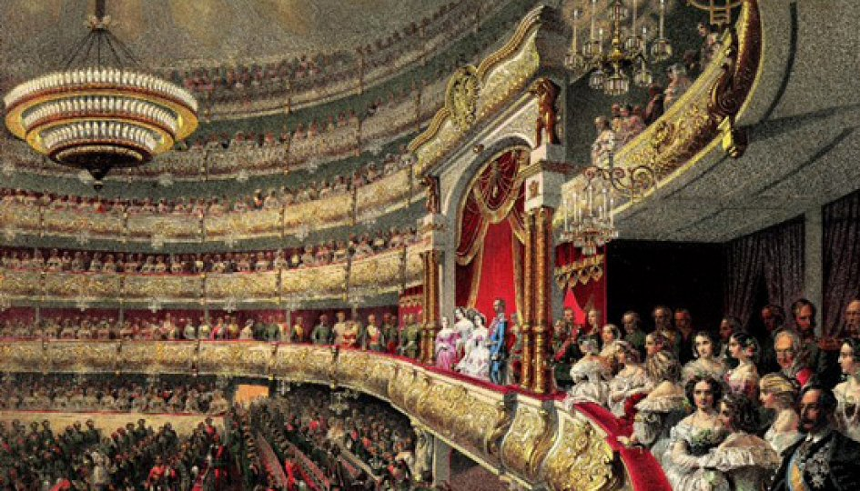 Выставки: Большой театр. История без антракта