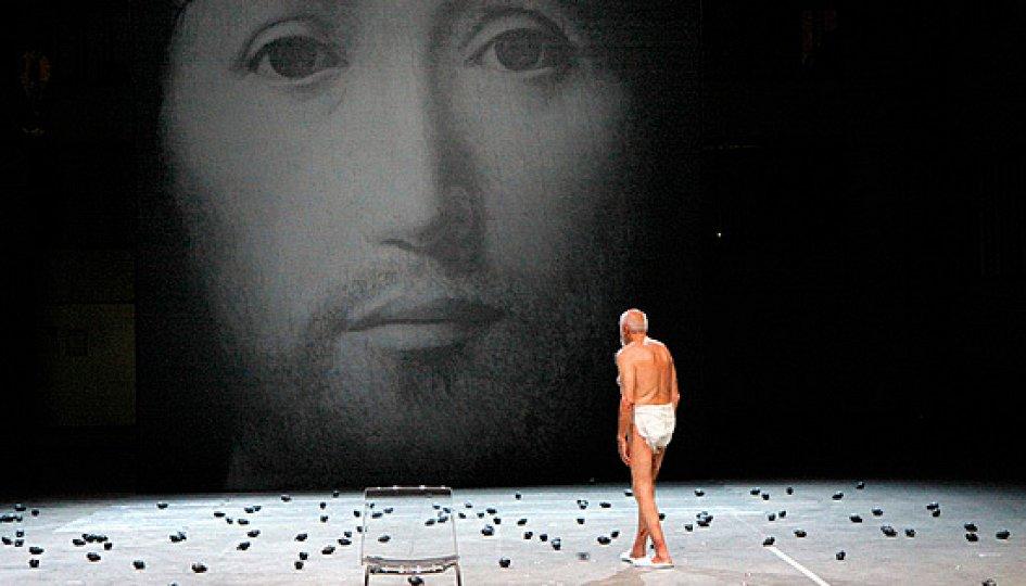 Театр: Проект «J». О концепции лика Сына Божьего