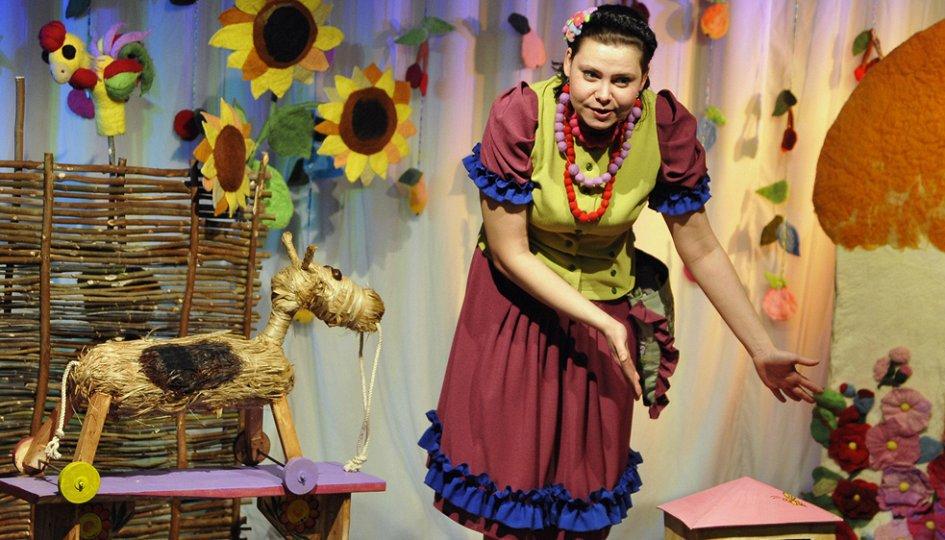 Театр: Соломенный бычок, Омск