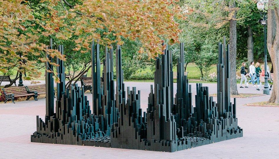 Выставки: Алексей Мартинс. Черный лес