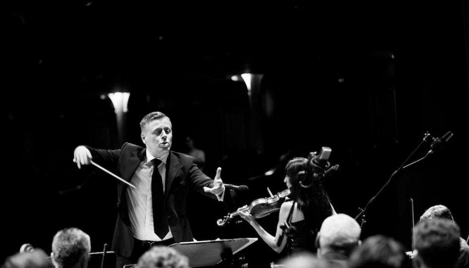 Концерты: Симфонический оркестр. Дирижер Абель Коженевский