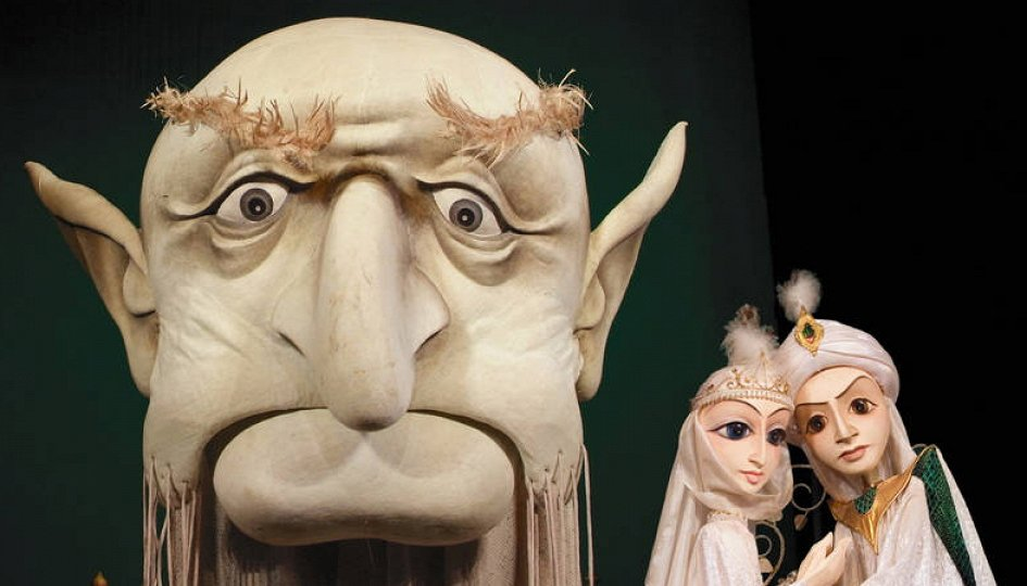 Театр: Волшебная лампа Аладдина