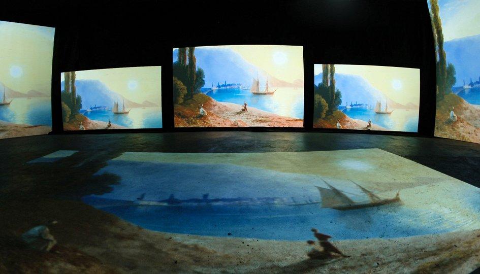 Выставки: Айвазовский. Ожившие полотна