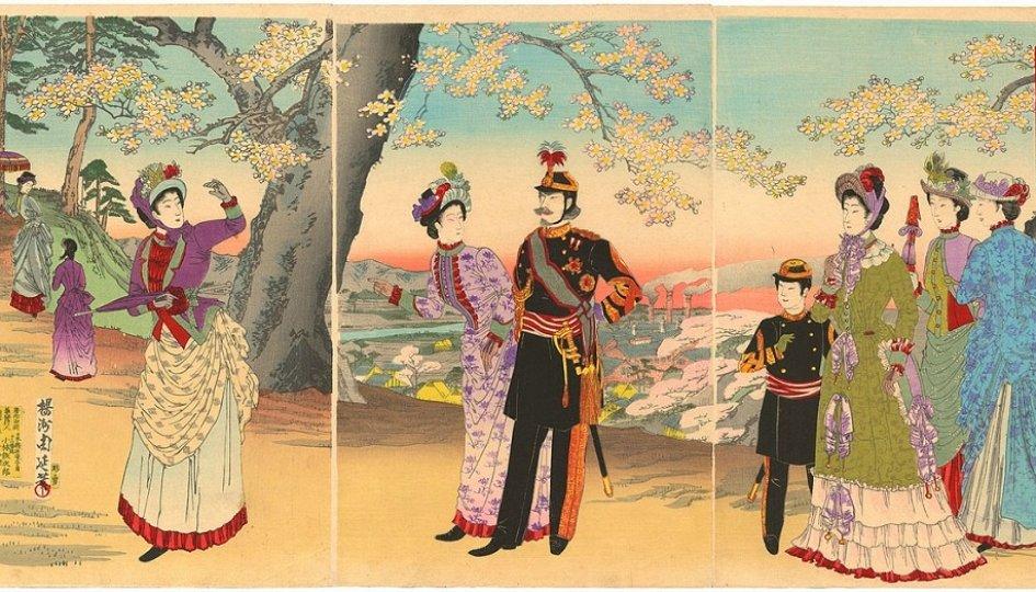 Выставки: Искусство Японии в эпоху Мэйдзи: от внутренних перемен к покорению мира
