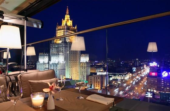 белый кролик ресторан москва фото