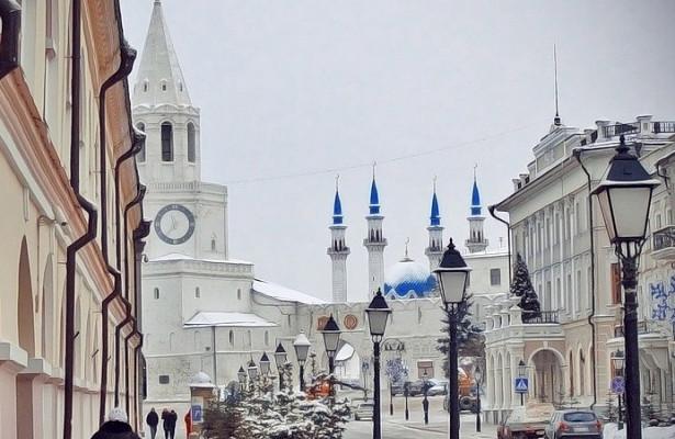Казань— втопе новогоднего туристического рейтинга