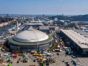 Передовые разработки пищевого исельскохозяйственного машиностроения представили наэкспозиции вЦентральной Европе