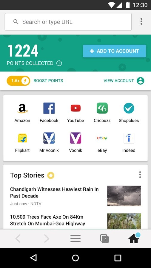 Cent Browser - Fast and Safe plus Free Data Apk Download