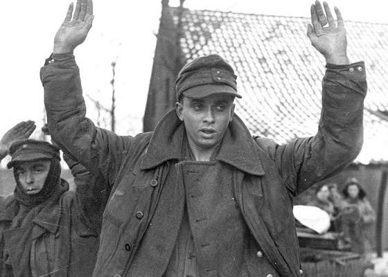 Каксоветская пропаганда призывала немцев сдаваться вплен